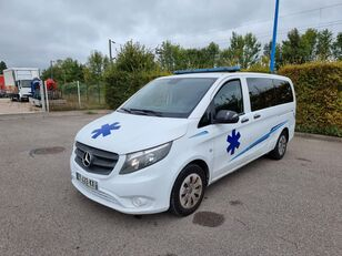 MERCEDES-BENZ VITO 163 CV - 2018 - 204 000 KM - AUTOMATIC ambulans