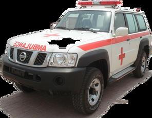 yeni NISSAN Patrol 4.0 XE AT ambulans