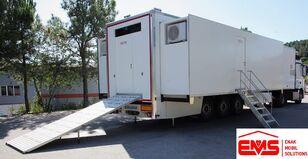 yeni ÇUHADAR TREYLER MOBİL CLİNİC HOSPİTAL READY ON STOCK ambulans