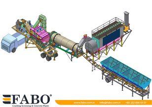 yeni FABO Installation of asphalt of any capacity mobile and fixed. asfalt plenti