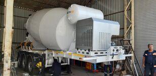 yeni EXPOTRAILER 12 M3 beton mikseri yarı römork