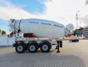 SCHWARZMÜLLER TTC-Fulda Betonmischer Auflieger mit Motor  NEU beton mikseri yarı römork