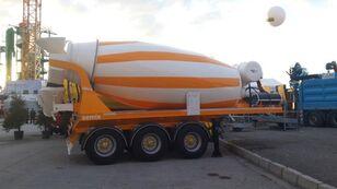 yeni SEMIX beton mikseri yarı römork