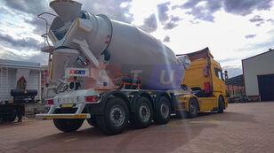 yeni STU 12.7 CBM MIXER TRAILER beton mikseri yarı römork