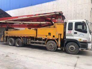 ISUZU şaside Putzmeister M42 beton pompası