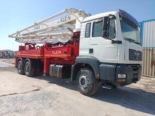 KLEINE 2008 MODEL 33.360 MAN TRUCKS 37 METER KLEİN CONCRETE PUMP  beton pompası