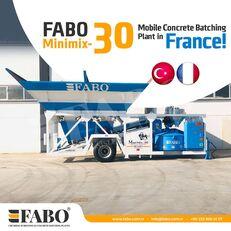 yeni FABO MINIMIX-30M3/H MINI CENTRALE A BETON MOBILE beton santrali