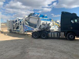 yeni PROMAX Mobile Concrete Batching Plant M120-TWN (120m3/h) beton santrali