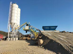yeni PROMAX Mobile Concrete Batching Plant M60-SNG  beton santrali