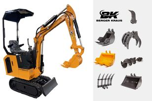 yeni BERGER KRAUS Mini Excavator BK800BS torsion arm with FULL equipment mini ekskavatör