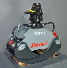 FERRARI Holzgreifer FLG 23 XS + Rotator FR55 F mobil vinç