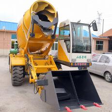 yeni LUZUN selfloading concrete mixer tekerlekli ekskavatör